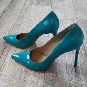 Michael Kors Collection blue heels